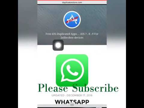 Install 2 whatsapp on any iPHONE , CLONE WHATSAPP !