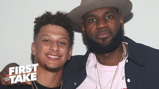 LeBron or Patrick Mahomes: Who is the most valuable athlete in American sports? | First Take