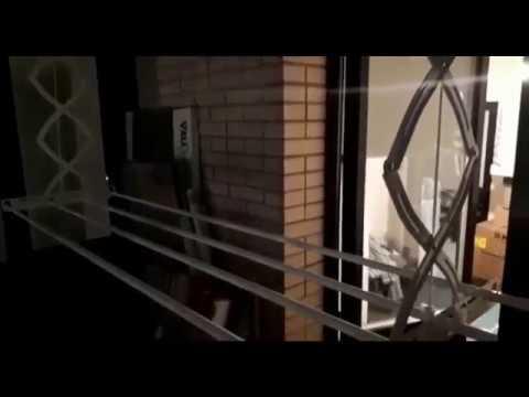 Видео: Потолочная сушилка для белья