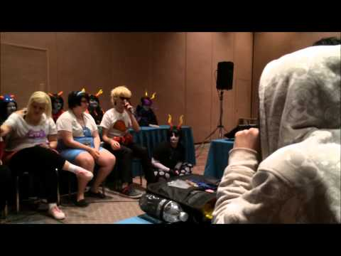 Anime Central 2014: A Homestuck Panel
