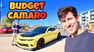 Buying The Cheapest Camaro SS 1LE In The Country