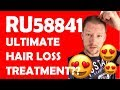 RU58841 - HAIR LOSS TREATMENT?  / Before & After results / How to...