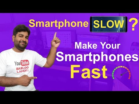 Smartphone Become Slow? How to fix them? Make Smartphones Fast Again - 동영상