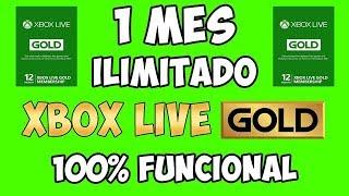 COMO TENER XBOX LIVE GOLD *GRATIS* -NO PIERDAS ES OPORTINIDAD UNICA-JULIO 2018- FREE GOLD