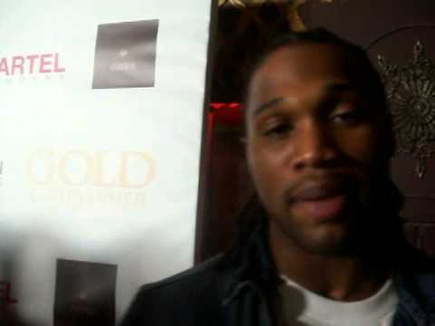 Omar Bolden (Denver Broncos) at BET Music Matters red carpet arrivals...