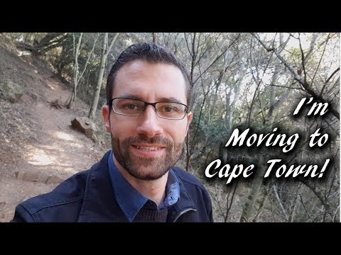 The Big Announcement - I'm Moving to Cape Town! - Vlog Post