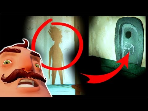 VAULT DOOR, QR CODE & END SHADOW SECRETS!! | Hello Neighbor Alpha 3