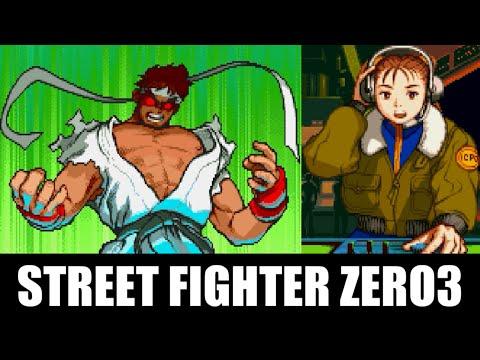 リュウ(Ryu) エンディング - STREET FIGHTER ZERO3