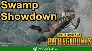 SWAMP SHOWDOWN - PUBG Xbox One X Gameplay