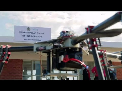 UNICEF opens Africa's first humanitarian drone testing corridor in Malawi
