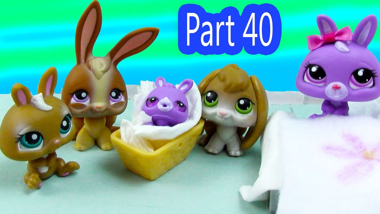 Lps Baby Bunny Brother Mommies Part 40 Littlest Pet Shop