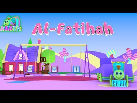 Murottal Juz Amma Al Fatihah Animation 3D Learning Letters Arabic Alphabet   Abata