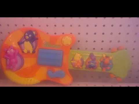 2006 Nick Jr. The Backyardigans Sing 'N Strum Guitar Toy By Fisher-Price