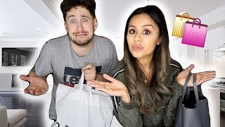 DOES HE REALLY KNOW ME? | BOYFRIEND VS GIRLFRIEND SHOPPING CHALLENGE