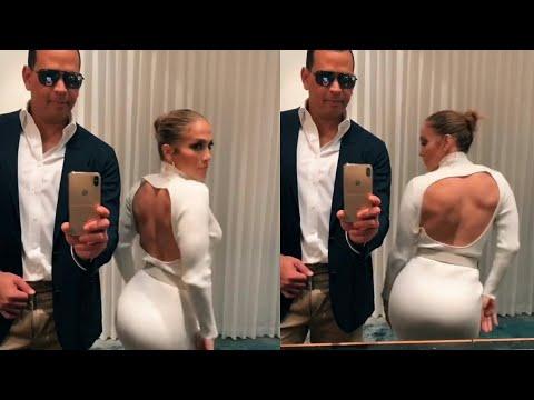 Jennifer Lopez & Alex Rodriguez Swap Outfits For 'Flip The Switch' TikTok Challenge