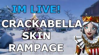 Crackabella Rampage! Pomme de terre Fortnite 22 victoires en solo