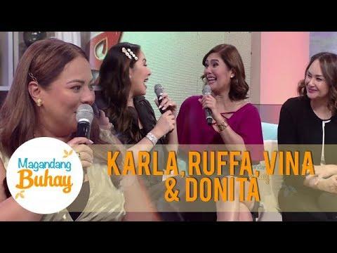 Karla, Ruffa, Vina and Donita reveal the men who came to their lives | Magandang Buhay