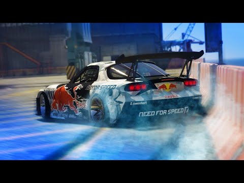 "GTA 5 – ""THE IMPORT"" Drift Montage (Mazda RX7)"