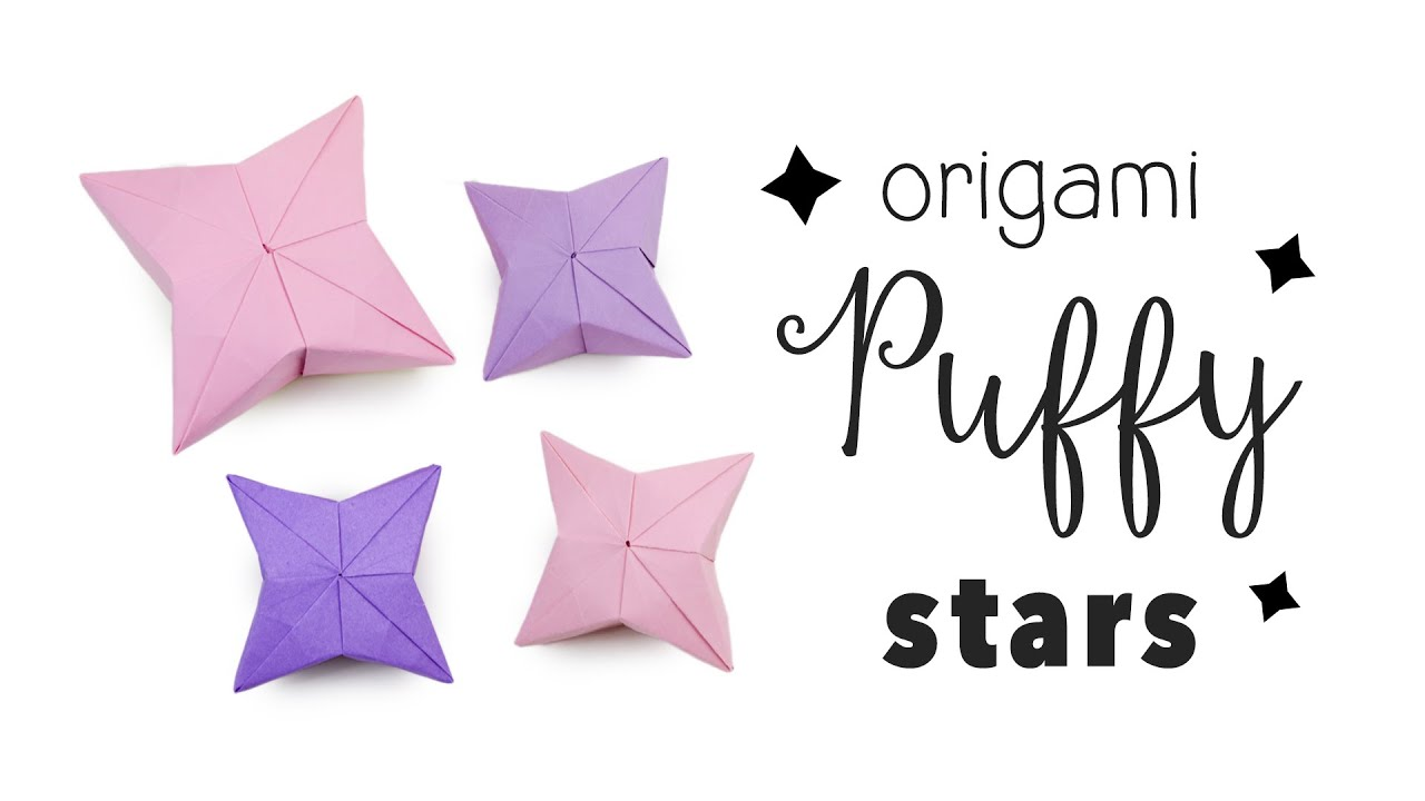 3D Origami Puffy Star Tutorial DIY Hanging Decoration ... - photo#35