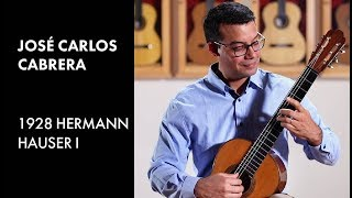 """Agustin Barrios Mangore's """"Caazapa"""" played by Jose Cabrera on a 1928 Hermann Hauser I"""