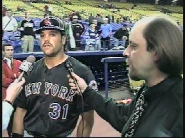 Mike Piazza - Mets  4-8-99
