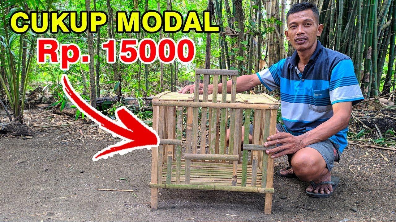 Gambar Kandang Ayam Sederhana Dari Bambu - Extra