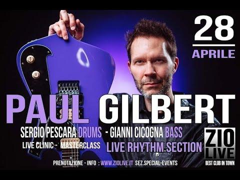 Paul Gilbert - Blues for Rabbit - at Zio Live Club Milano