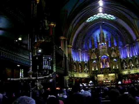 Holy Friday at Notre Dame Basilica in Montreal 2010
