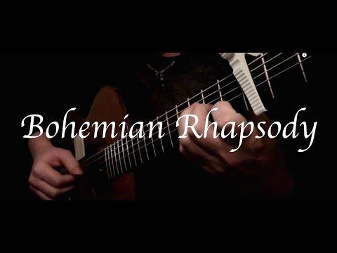 Kelly Valleau - Bohemian Rhapsody (Queen) - Fingerstyle Guitar