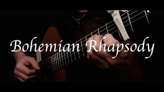 Kelly Valleau - Bohemian Rhapsody (Queen) - Fingerstyle Guitar