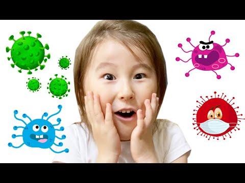Серия 8. мисс Томирис и микробы. Развивающие мультики для детей