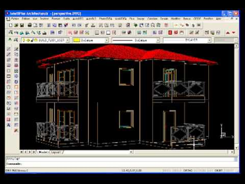 perspective 3d logiciel architecture 3d en dwg tutoriel intelliplus architectural youtube. Black Bedroom Furniture Sets. Home Design Ideas