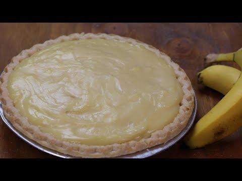 Banana Cream Pie Recipe - How To Make Banana Cream Pie From Scratch