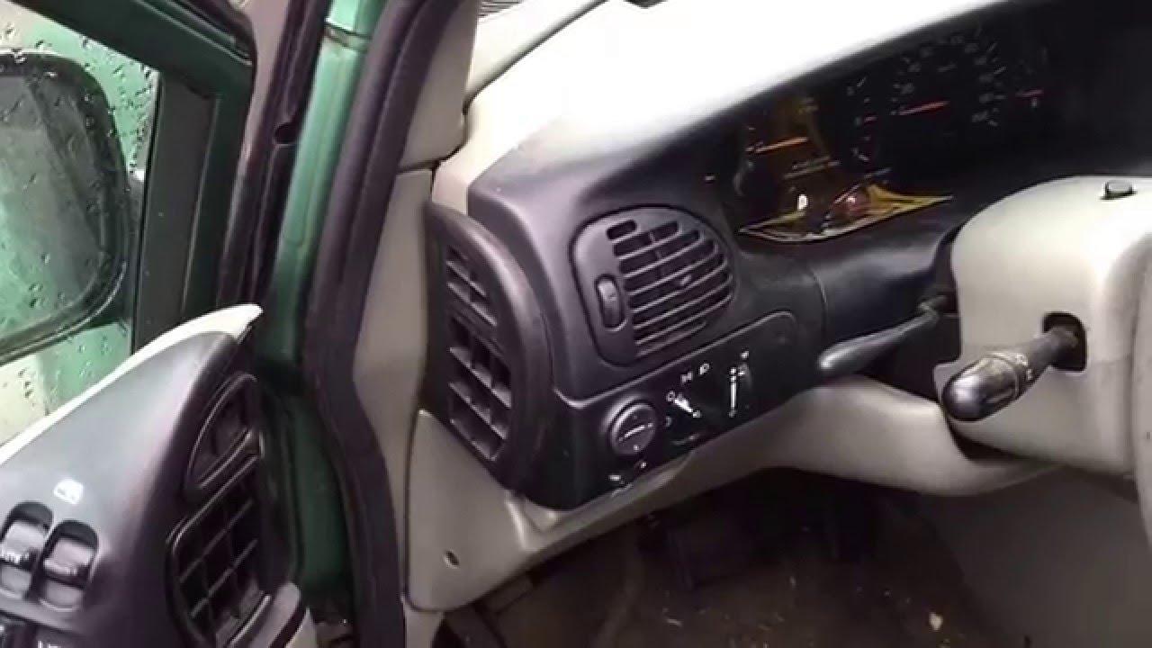 Flasher Relay Wiring Diagram 7 Wire Trailer Plug Chrysler Minivan Dodge Caravan 1998: Fix Signal Lights | Flue Guru - Youtube