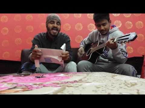 A-Kay jordan vs 250 de shoe || funny version || Punjabi guitar cover || Harry ft.Rj (Guitar Gabruz)