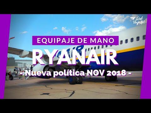 Equipaje De Mano RYANAIR 2018