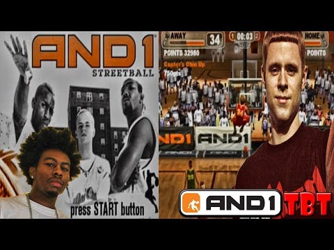 Throwback  AND1 Streetball The Video Game | Taking It Back To The Streets!
