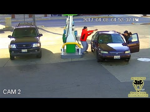 Ego Leads to Deadly Force Encounter at Gas Station | Active Self Protection