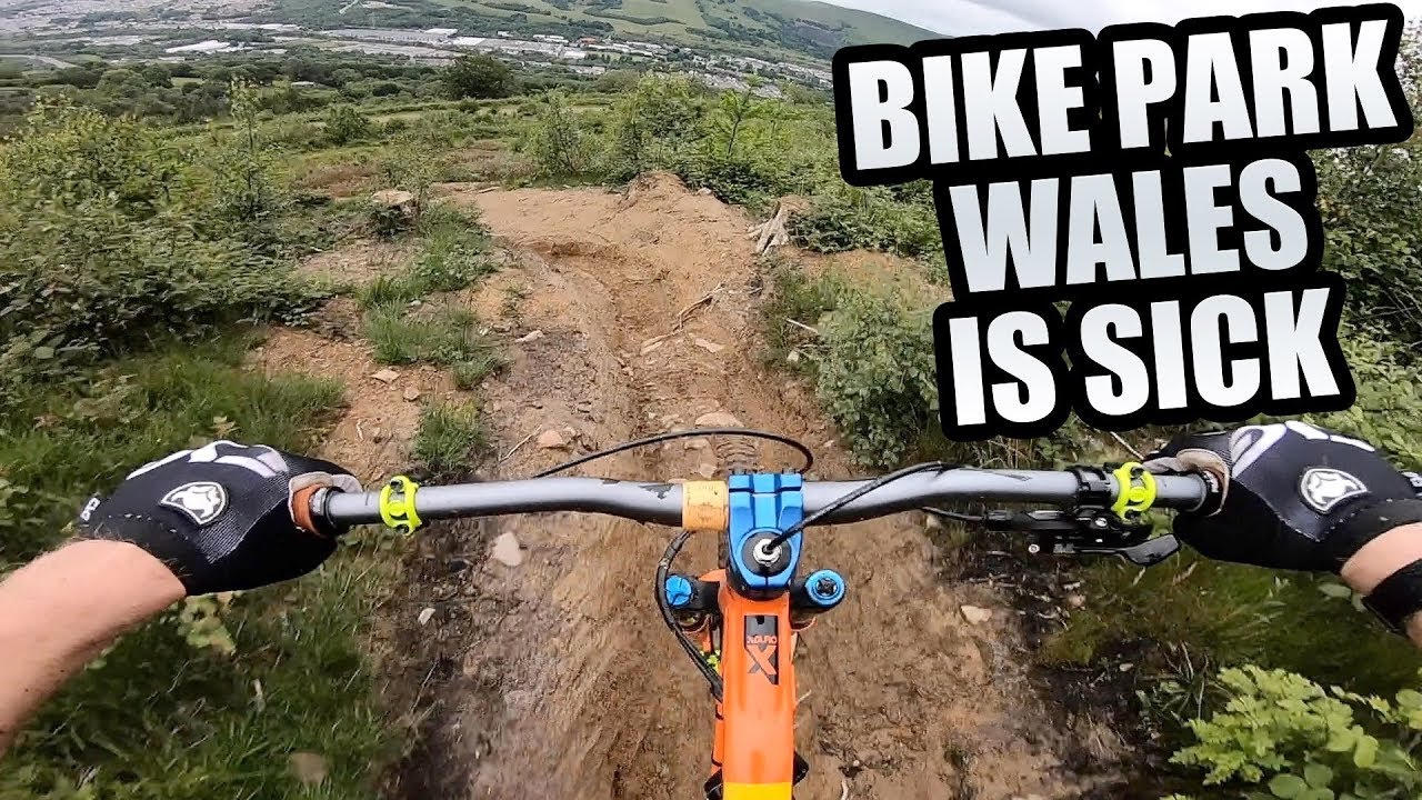 The Mtb Trails At Bike Park Wales Are Sick Youtube