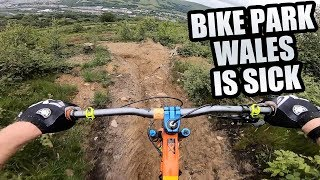 THE MTB TRAILS AT BIKE PARK WALES ARE SICK!