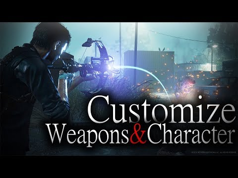 NEW The Evil Within Gameplay Info | Customize Weapons & Character