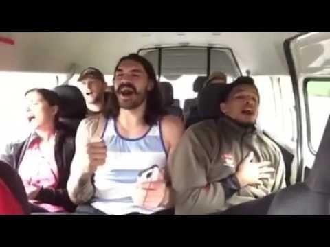 Steven Adams & Andre Roberson Roadtrip karaoke