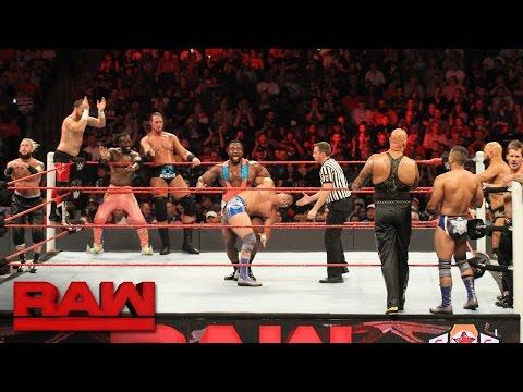 10-Man Tag Team Match: Raw, Sept. 19, 2016