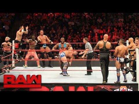 10Man Tag Team Match: Raw, Sept 19, 2016