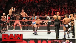 10 Man Tag Team Match Raw Sept 19 2016