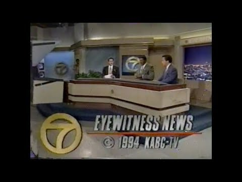 KABC - Channel 7 Los Angeles - News Open & Close (1993 & 1994)
