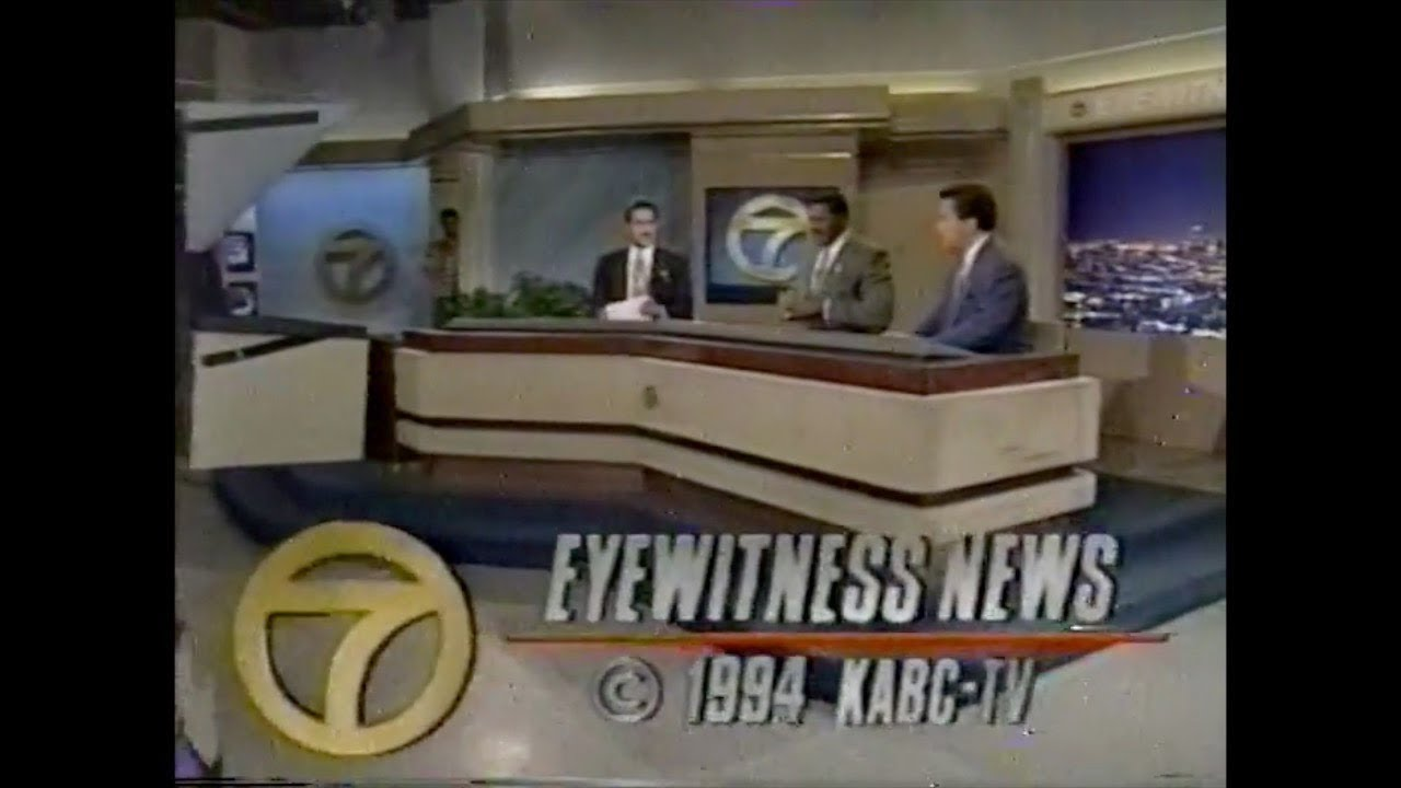 kabc channel 7 los angeles news open close 1993 1994 youtube