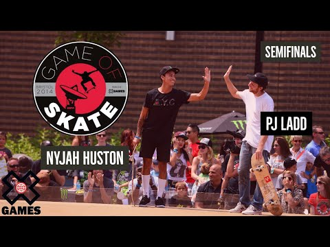 PJ Ladd vs. Nyjah Huston Game of Skate...