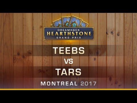 Teebs vs Tars - RO16 - Hearthstone Grand Prix DreamHack Montreal 2017