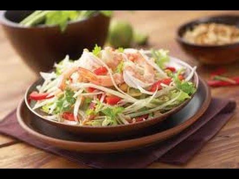 Тайский сыроедный папайя салат|Let's Raw